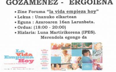 Gozamenez -Ergoiena