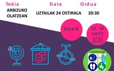 Goza Bizi En Arbizu, 24 de julio a las 20:30